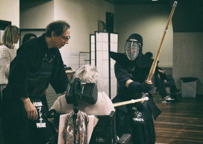 Kendo : Formation pour la prise en charge d'une personne handicapée.