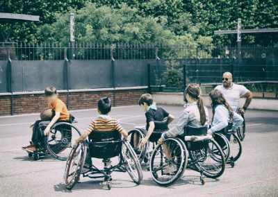 Paralympiades en milieu scolaire